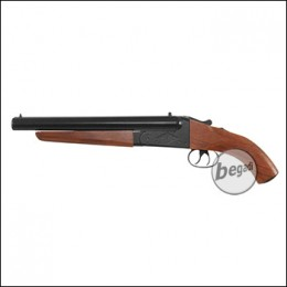 Haw San FS-0521 Double Barrel Shotgun inkl. 2 Hülsen -kurze Version- (frei ab 18 J.)