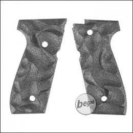 Alumide Griffschalen für KJW M9 + BFA SA92B GBB -grau-