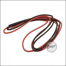 BEGADI 16AWG 1,5QMM Kabel Set, V.1, mit 2.8mm Aussendurchmesser (2x 1 Meter)