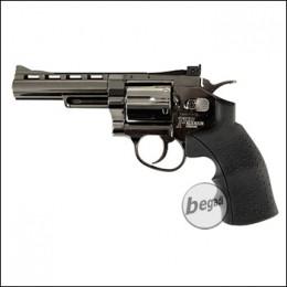 """TFC Sixgun 4"""" CO2 Revolver -chrome- (frei ab 18 J.)"""
