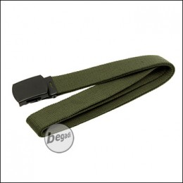 MFH Gürtel, 30mm, aus Webgurt, mit Metallschnalle - olive