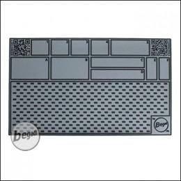 BEGADI Arbeitsmatte / Working Pad, 50 x 30cm - grau