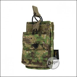 "BE-X Open Type Mag Pouch ""Stacked"" für M4 / M16 - PenCott Greenzone"