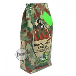 5.000 SUPER KING AIRSOFT BIO BBs 6mm 0,20g olive