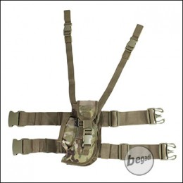 BE-X Oberschenkel Holster, links - Multicam