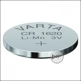 VARTA Knopfzelle CR1620 (3,0V - 70mAh - Lithium)