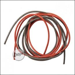 BEGADI 16AWG 1,5QMM Kabel Set, V.2, mit 2.35mm Aussendurchmesser (2x 1 Meter)