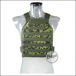 BE-X Lightweight Plate Carrier (unisize) - dänisch tarn