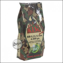 4.000 SUPER KING AIRSOFT BIO BBs 6mm 0,25g hell