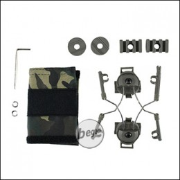 Z-Tactical Helm Rail Adapter Set für COMTAC I & II -olive- [Z046]