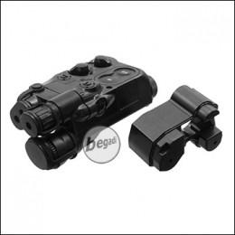 UFC Batteriebox, klein, im PEQ 16 Style - schwarz [UFC-AR-25BK]