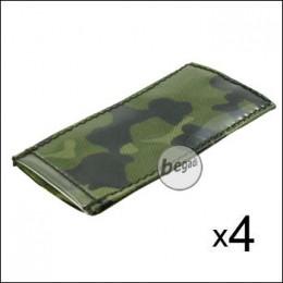 BE-X Modular ID Tags - 4er Pack - dänisch tarn