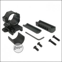 Begadi höhenverstellbare 25,4/30mm QD Montage
