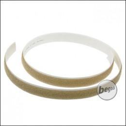 BE-X Selbstklebendes Klettband, 20mm, Länge: 1 Meter - TAN
