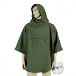 "Fibega Outdoor Poncho ""Cuculle"", Softshell, olive"