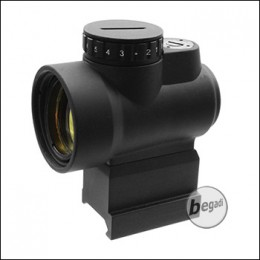 Begadi 1x25 Short Dot - mit QD Riser Mount - schwarz