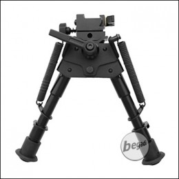 "Begadi 360° ""Full Adjustable"" Zweibein / Bipod  -schwarz-"