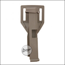 Begadi Quick Release Holster für TM / KWA / VFC / WE G17 -TAN-