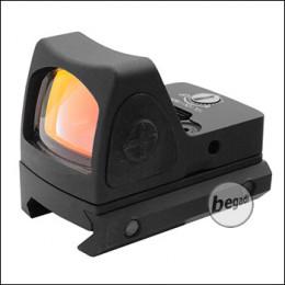Begadi Micro Dot Gen.2 (19mm) mit 2 Montagen & Schutzcover -schwarz-