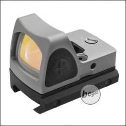 Begadi Micro Dot Gen.2 (19mm) mit 2 Montagen & Schutzcover -grau-