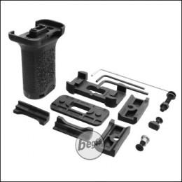 "Begadi Vertical Short Grip ""Multi"" für RIS, M-LOK & Keymod Systeme -schwarz-"