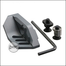 Begadi Daumenauflage für MLOK & KeyMod Systeme -grau-
