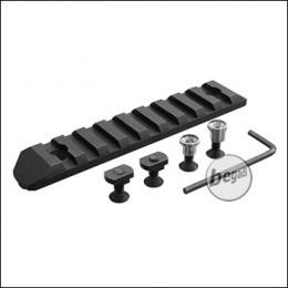 Begadi M-LOK & Keymod 9 Slot Metall Rail -schwarz-