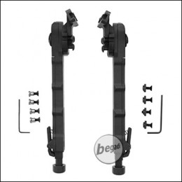 "Begadi ""Multi Pod"" Zweibein / Bipod, Sidemount Edition, für M-LOK & Keymod Systeme -schwarz-"