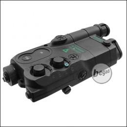 Begadi PEQ 16 Style Batteriebox mit Verlängerung -schwarz-