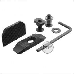 Begadi CNC Alu Daumenauflage (Thump Rest) für M-LOK und Keymod (einstellbar)