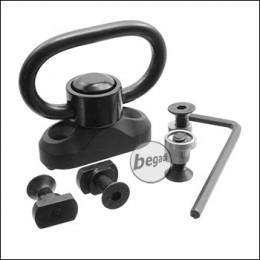 Begadi QD Sling Swivel - Type 1 (Keymod + M-LOK)