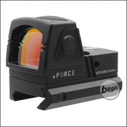 xFORCE XFR02 / XR020 Solar Micro Red Dot (19mm) mit 2 Montagen & Killflash -schwarz-