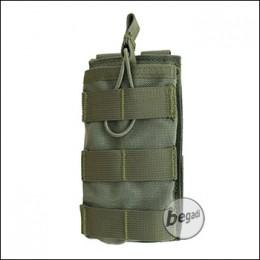 "BEGADI Basic Magazintasche ""5.56 / M4 / M16 - single"" - olive"