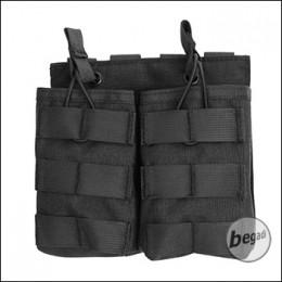 "BEGADI Basic Magazintasche ""G36 - double"" - schwarz"