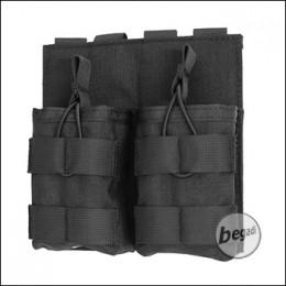 "BEGADI Basic Magazintasche ""7.62 / G3 / M14 - double"" - schwarz"