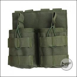 "BEGADI Basic Magazintasche ""7.62 / G3 / M14 - double"" - olive"