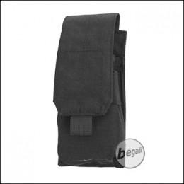 "BEGADI Basic Magazintasche ""M4 Single, geschlossen"" - schwarz"