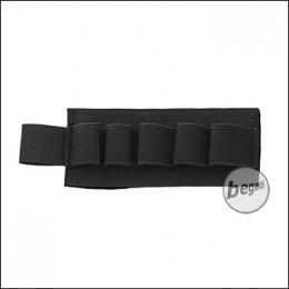 BEGADI Basic Shotgun / CO2 Patch, mit Klett - schwarz