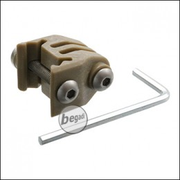 Begadi Basic Rail Mount für GoPro etc. -TAN-