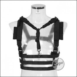 Begadi Basic Chest Rig mit QD Sling -schwarz-