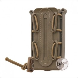 "Begadi Basic Low Profile Pistol Mag Pouch / Magazintasche ""9mm"" - TAN"