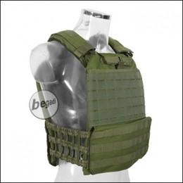 "Begadi Basic Plattenträger / Plate Carrier ""Warrior"" - olive"