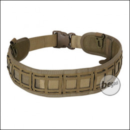 BEGADI Basic Battle Belt, Lasercut, 80cm - 100cm, TAN