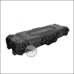 """Begadi Gewehrkoffer / Hardcase """"Multi Protect"""", 109cm, aus Polymer Kunststoff, lang -schwarz-"""