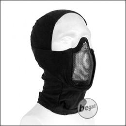 """Begadi Basic Schutzmaske """"Stealth"""", mit Drahtgitter -schwarz-"""