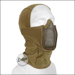 "Begadi Basic Schutzmaske ""Stealth"", mit Drahtgitter -TAN-"