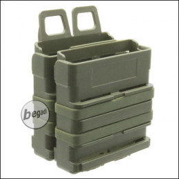 BEGADI Basic Hardshell Magazintaschen / Mag Pouch Bundle 7.62mm [SR25, M14, MK17 etc.] -olive-