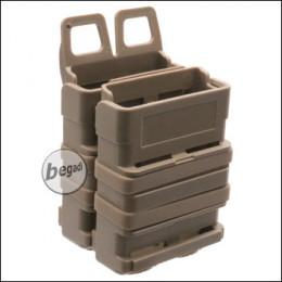 BEGADI Basic Hardshell Magazintaschen / Mag Pouch Bundle 5.56mm [M4 / M16 etc.] -TAN-