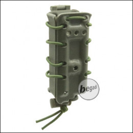 """BEGADI """"Multi Fit"""" Polymer Magazintasche / Mag Pouch 9mm, MP, SMG -olive-"""