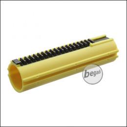 SHS Piston mit 19 Stahlzähnen für L85 / SR25 -gelb-
